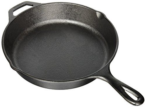 Camp Cooking Tips And Tricks - Use the right camp cooking tools like this Lodge L8SK3 Pre-Seasoned Cast-Iron Skillet, 10.25-inch