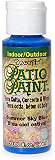 product image for DecoArt Patio Paint Acrlylic Summer Sky Blue 2oz
