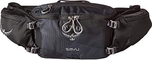 (Osprey Packs Savu Lumbar Hydration Pack, Obsidian Black )