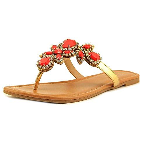 Thalia - Sandalias de vestir para mujer Rich Coral