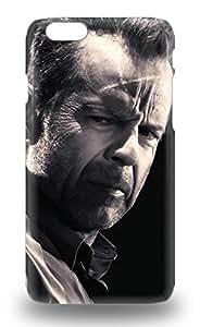 Iphone 6 Hard Back With Bumper Silicone Gel Tpu 3D PC Soft Case Cover Bruce Willis The United States Male Walter Bruce Willis Die Hard ( Custom Picture iPhone 6, iPhone 6 PLUS, iPhone 5, iPhone 5S, iPhone 5C, iPhone 4, iPhone 4S,Galaxy S6,Galaxy S5,Galaxy S4,Galaxy S3,Note 3,iPad Mini-Mini 2,iPad Air )