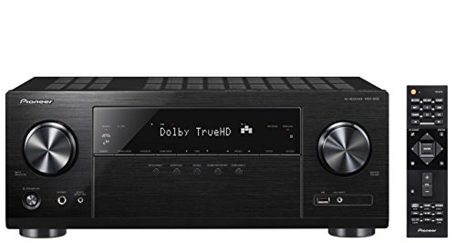 Pioneer Dolby Atmos-Ready Audio & Video Component Receiver Black (VSX-832) (Pioneer Home Receiver Amp)