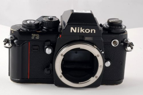Nikon F3 viewfinder professional camera
