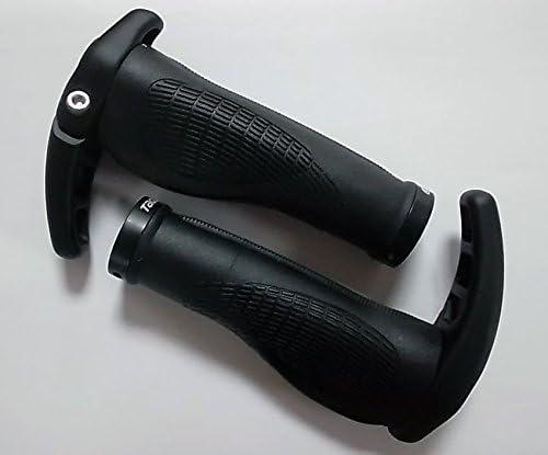 Puños para manillar de bicicleta con cuernos integrados (130 mm ...