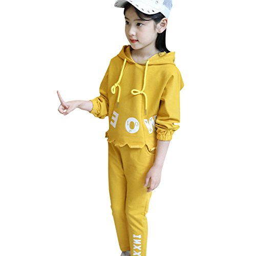 M&A Girls Fashion Tracksuit Clothing Set Hoodie + Pants Spring Autumn by M&A (Image #7)