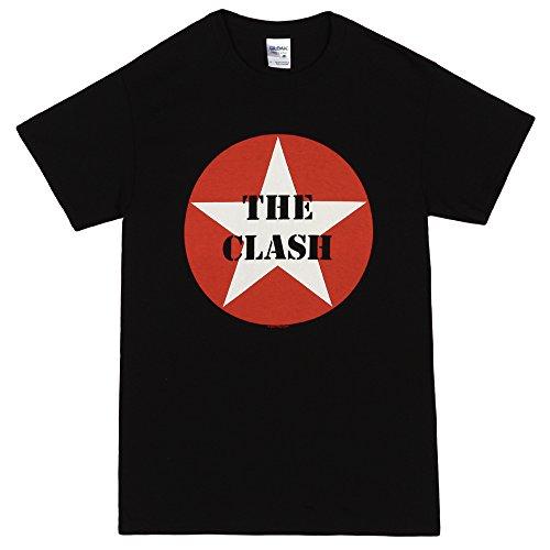 The Clash- Star Logo T-Shirt Size S (Clash Band)