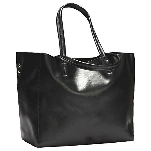 Covelin Womens Handbag Genuine Soft Leather Tote Shoulder Bag Hot