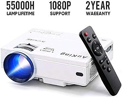 Amazon.com: Mini proyector de 2600 lúmenes, 2019 actualizado ...