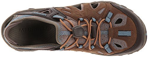 Brown Blaze de All Out Sieve Merrell Basses Randonnée Chaussures Sugar Blue Femme ScaRWznp