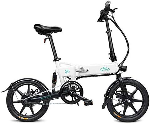 FIIDO D2 Bicicleta eléctrica Plegable de 16 Pulgadas con Pedales ...