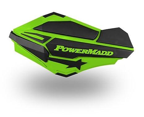 Powermadd Trail Star Series Handguards Guards Tri Mount Black Utility ATV Honda
