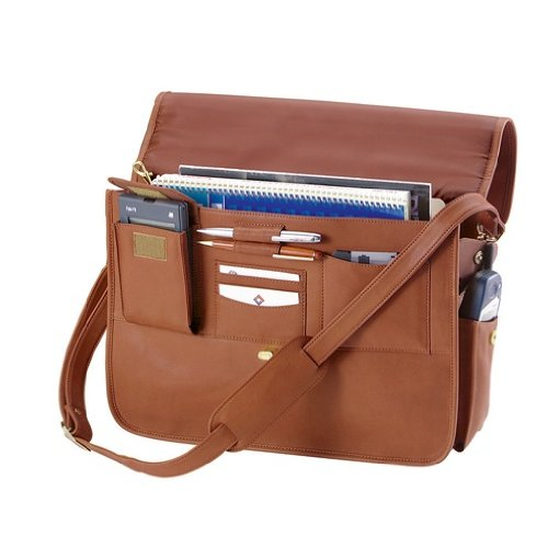 Executive Leather Briefcase, Bags Central
