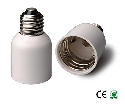 Price comparison product image E-Simpo 4-pack E26 to E39 Adapter, E26 to E39 Lamp Base Converter, PBT,  Z1116