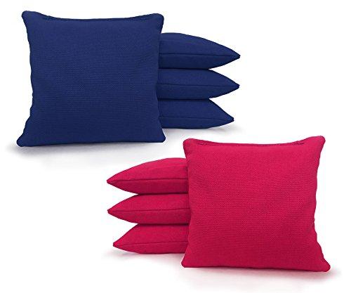 Five Bean - Regulation Cornhole Bags - Set of 8 - Corn Filled & Handmade 25+ COLOR OPTIONS