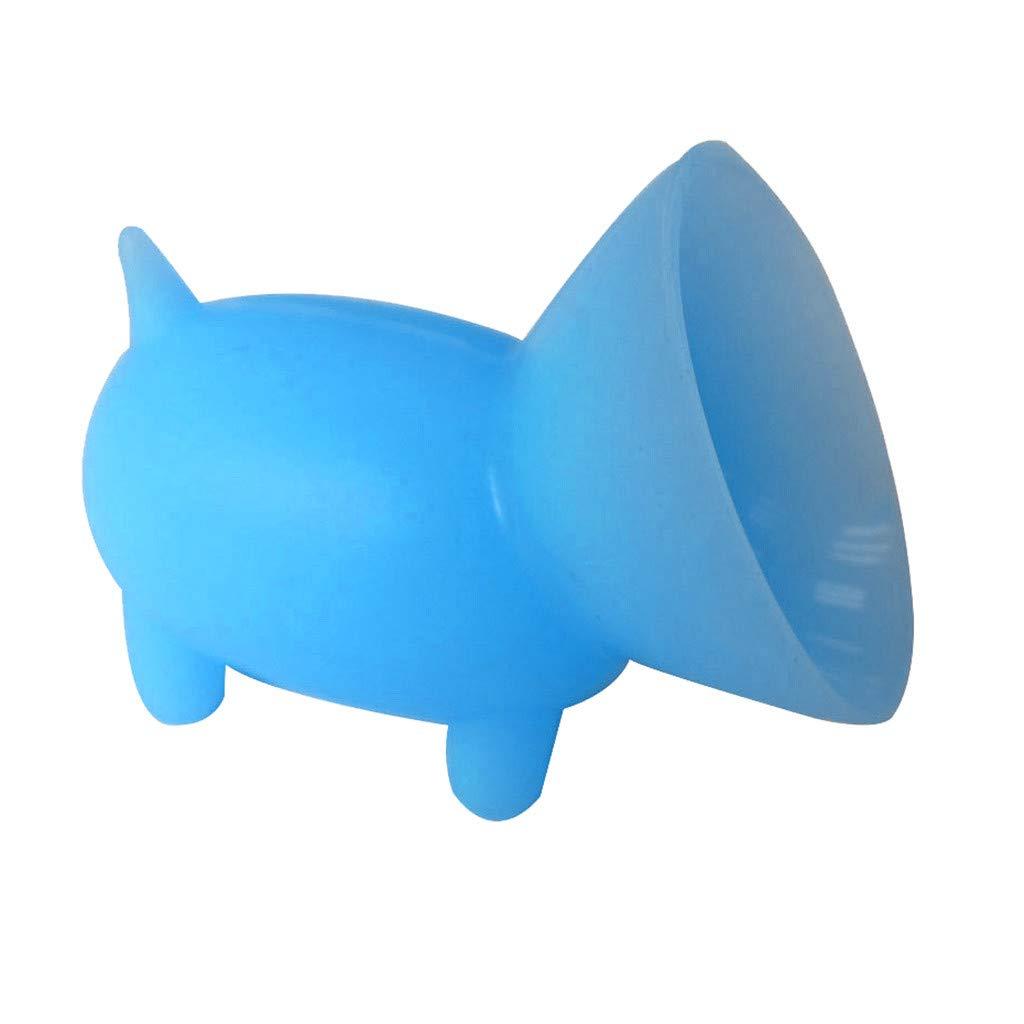 2 graziosi supporti a ventosa in silicone a forma di maialino Mini supporto per cellulare idea regalo misura Green