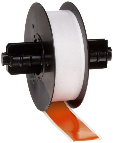 "UPC 754473985493, Brady 113202 MiniMark 100' Length x 1.125"" Width, B-595 Vinyl, Orange Indoor/Outdoor Industrial Label Printer Super Tough Tape"