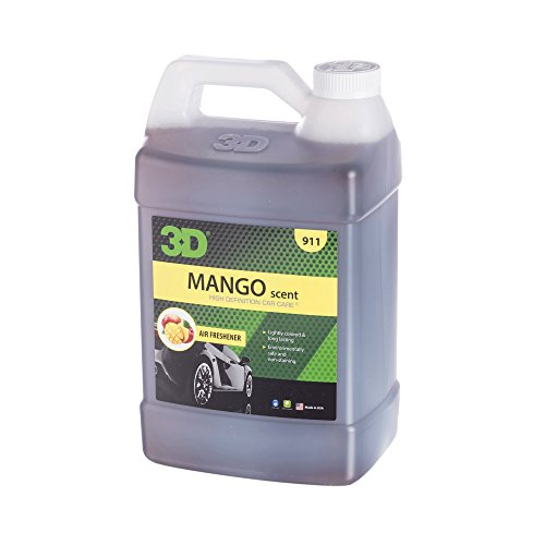 3D Air Freshener - 1 Gallon (Mango) - Made in USA | All Natural | No Harmful Chemicals
