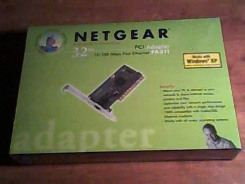 PCI ETHERNET CARD FA311 REV-C1 10/100Mbps, FA37C32136712, 00095B1E6686 by NETGEAR (Image #1)