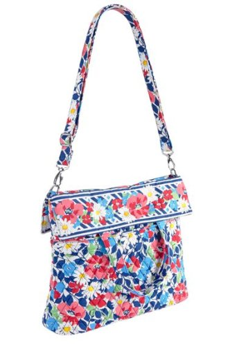Vera Bradley Convertible Crossbody in Summer Cottage, Bags Central