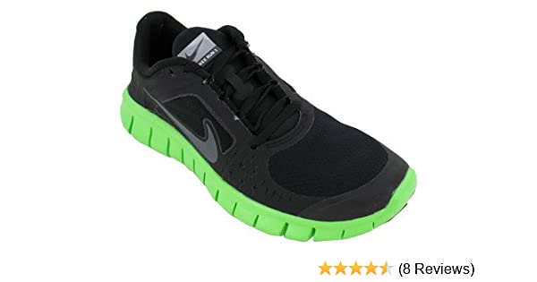 finest selection 54550 62353 Amazon.com | Nike Free Run 3 (GS) Boys Running Shoes 512165-005 Black 5 M  US | Athletic