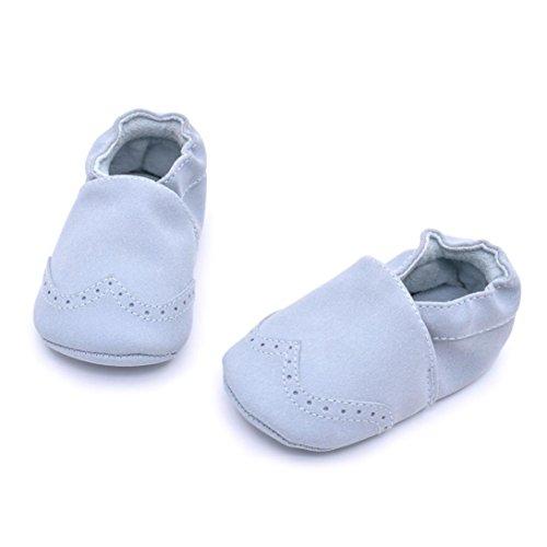 Clode® Baby Kleinkind Säugling Neugeborene Prewalker Aufladungs Quasten Schuhe Weiche Sole Blau