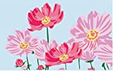 YEESAM ART New Paint by Numbers for Kids or Adults Beginner - Flower of Love 20X30cm