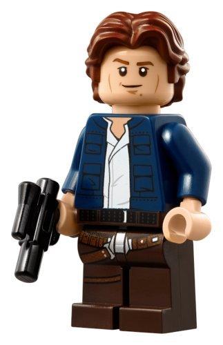 LEGO Star Wars Minifigure Harrison Ford - Han Solo Millennium Falcon - UCS (75192) - Ford Falcon Set