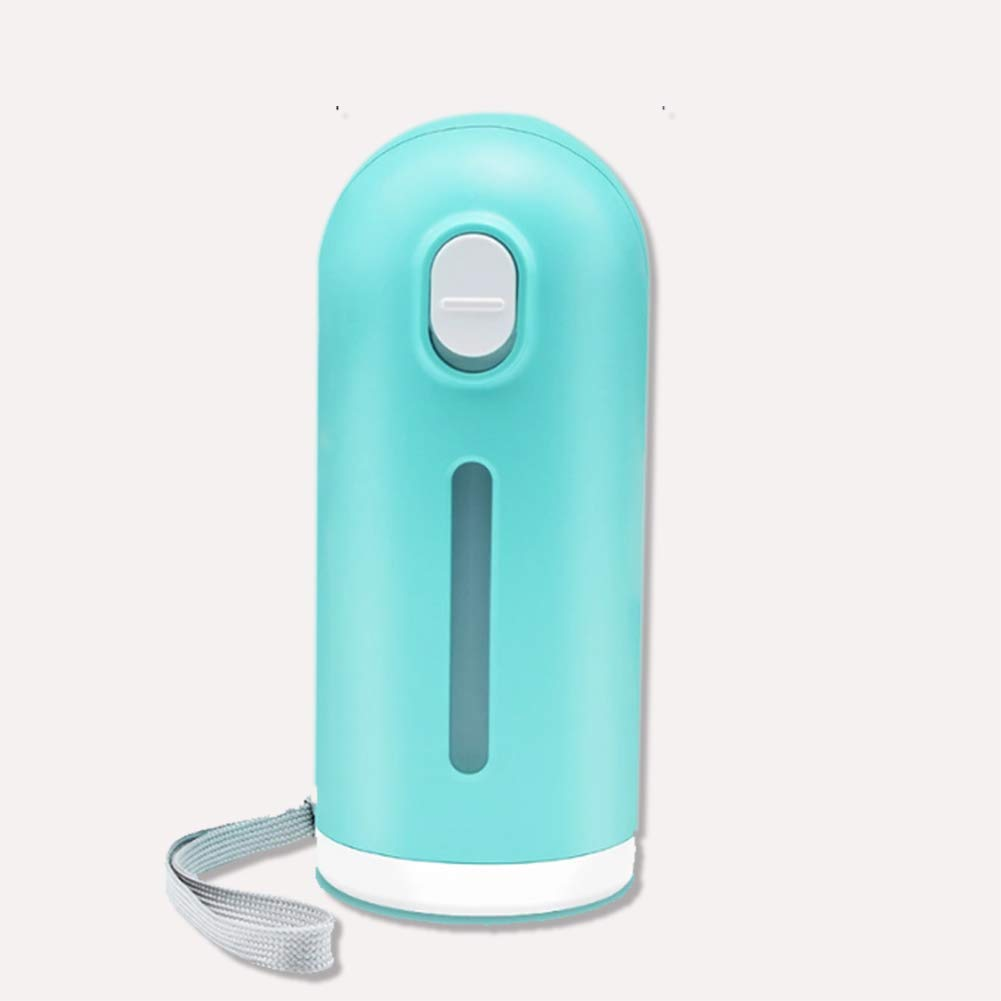 Portable Dog Water Bottle, Leak Proof Pet Water Bottle Fast and Easy for Walking, Travel, Antibacterial Safe and Durable,Blue