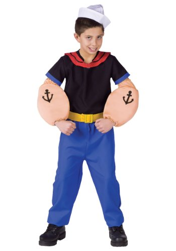 [Fun World Popeye Costume X-large (16-18)] (Popeye Costumes)