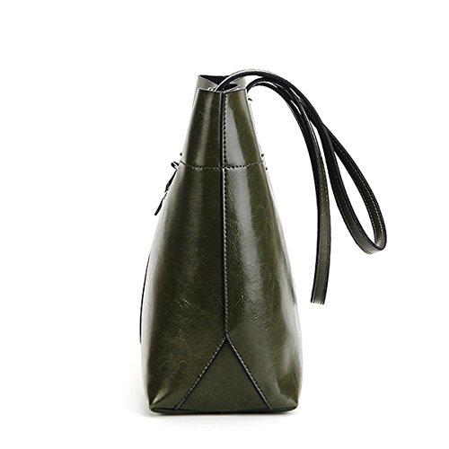 LF main épaule femme Sac cuir 8825A Vert DISSA en à Sac portés fashion dxwRIpPqS