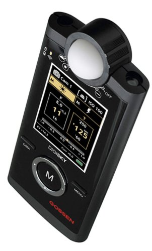 al GO 4039 Exposure Meter for Flash and Ambient Light for Cameras ()
