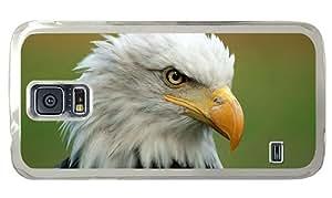 Hipster Samsung S5 DIY cases Majestic Bald Eagle PC Transparent for Samsung S5