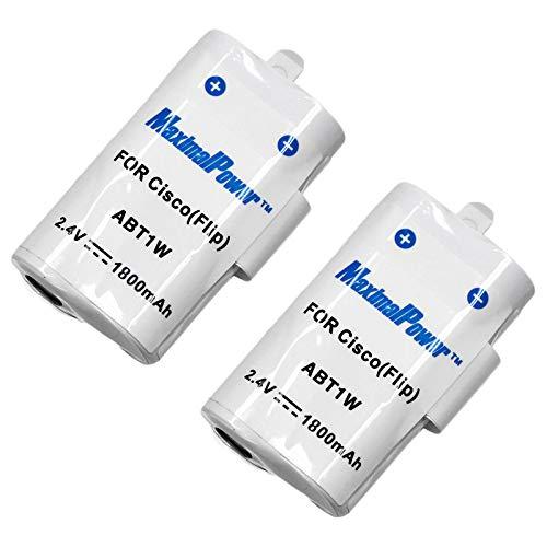 MaximalPower DB FLIP ABT1W x2, 2 Pack Battery