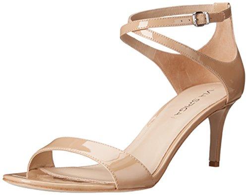 - Via Spiga Women's Leesa Heel Sandal, Nude, 7.5 M US