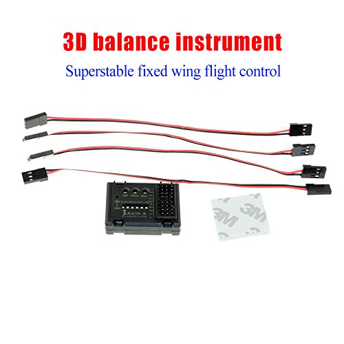 Review Soulload 3-axis Flight Control Controller Stabilizer System Gyro for FPV RC Airplane, Fixed Wing Aircraft