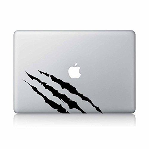 Wolverine Claw Marks X-Man Superhero Apple Macbook laptop vinyl sticker decal