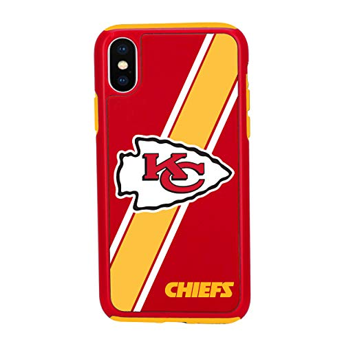 iPhone Xs MAX Impact Series Dual Layered Protective Case for NFL Kansas City Chiefs ()