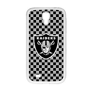 Oakland Raider White Phone Case for Samsung Galaxy S4