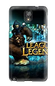 New ThomasSFletcher Super Strong League Of Legends Video Game League Of Legends Tpu Case Cover For Galaxy Note 3
