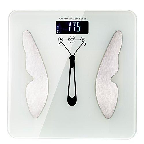 Digital Weight Bathroom Scale Ultra Slim Body Fat - Bathroom Scale Double A
