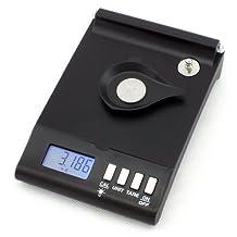 Parrshop Precision 1mg Pocket Digital Scale 0.001g X 30g Reloading Powder Grain Lab Jewelry Gem Gold Silver Coins Tea Medicine Milligram