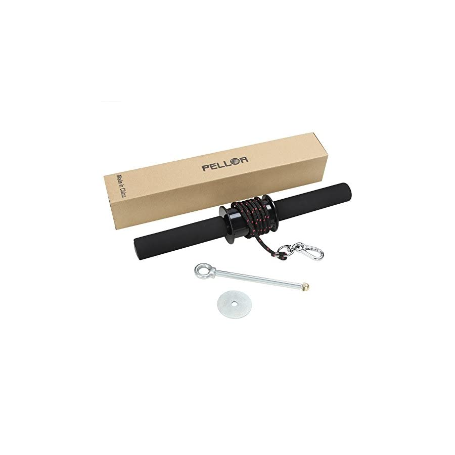 Pellor Wrist Roller Exerciser Trainer Forearm Strength Exerciser