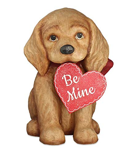 Bethany Lowe Be Mine Puppy Large Paper Mache TD8491