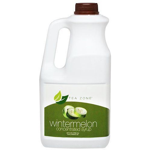 Concentrated Syrup Flavoring 64 Fl. Oz, Mix & Make Slushies, Smoothies, Juices, Flavored Tea, Frozen Yogurt and Alcoholic Cocktails (Winter Melon) by Tea Zone (Slushies Mix compare prices)
