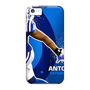 Iphone 5c YLI15216QbGZ Customized Colorful Indianapolis Colts Image Protector Hard Phone Case -DannyLCHEUNG