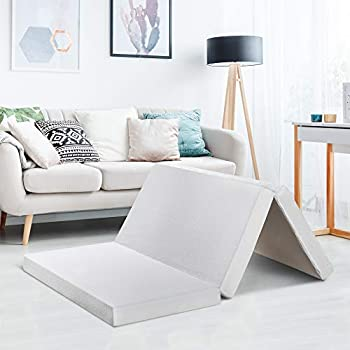 Amazon Com Zinus Memory Foam 4 Inch Tri Fold Comfort