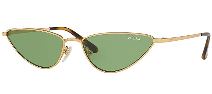 Vogue 0VO4138S Gafas de sol, Gold, 56 para Mujer: Amazon.es ...