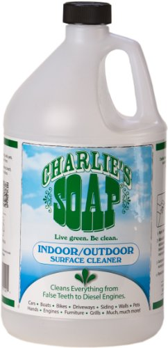 Soap Based Outdoor Cleaner - Charlies Soap Concentrated Indoor and Outdoor Surface Cleaner, 128 Ounce - 4 per case.