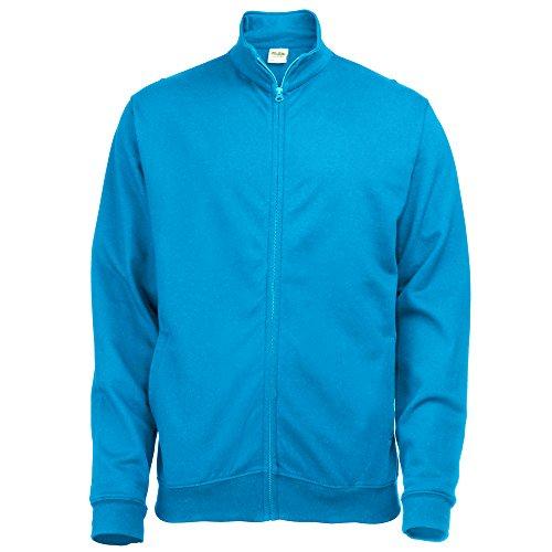 AWDis Hoods Fresher full zip sweatshirt Sapphire S