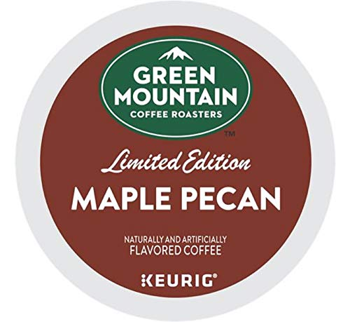 Green Mountain Coffee Roasters Green Mountain Coffee Maple Pecan, Single Serve Keurig K-Cup Pods, Flavored Coffee, 96 Count, 96 Count